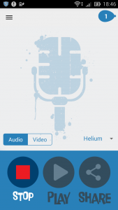 Helium Voice Changer + Video1