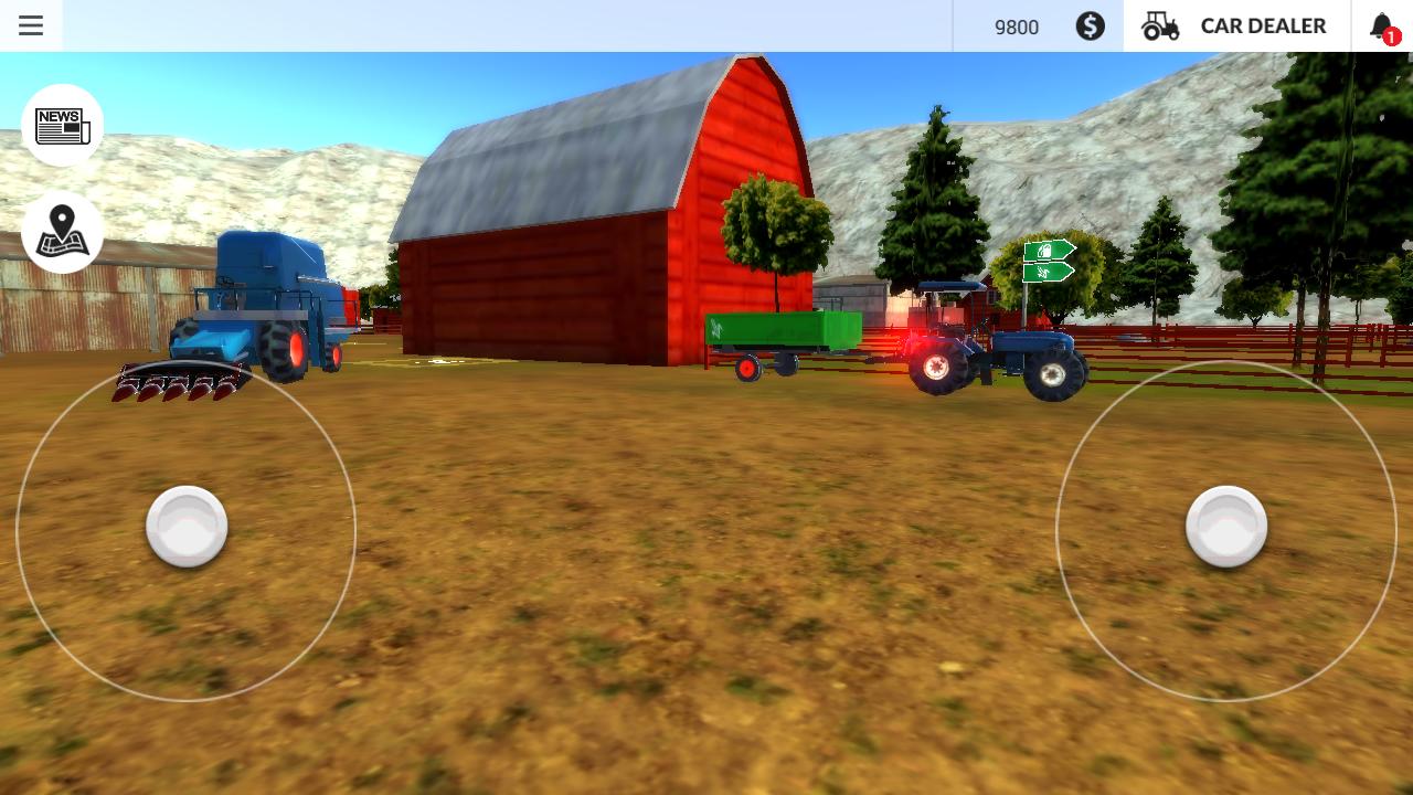 игры на андроид скачать про трактора