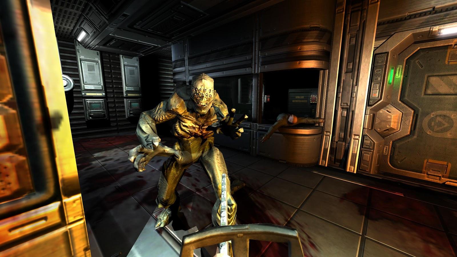 Doom 3 bfg edition (2012) торрент экшен   repack.