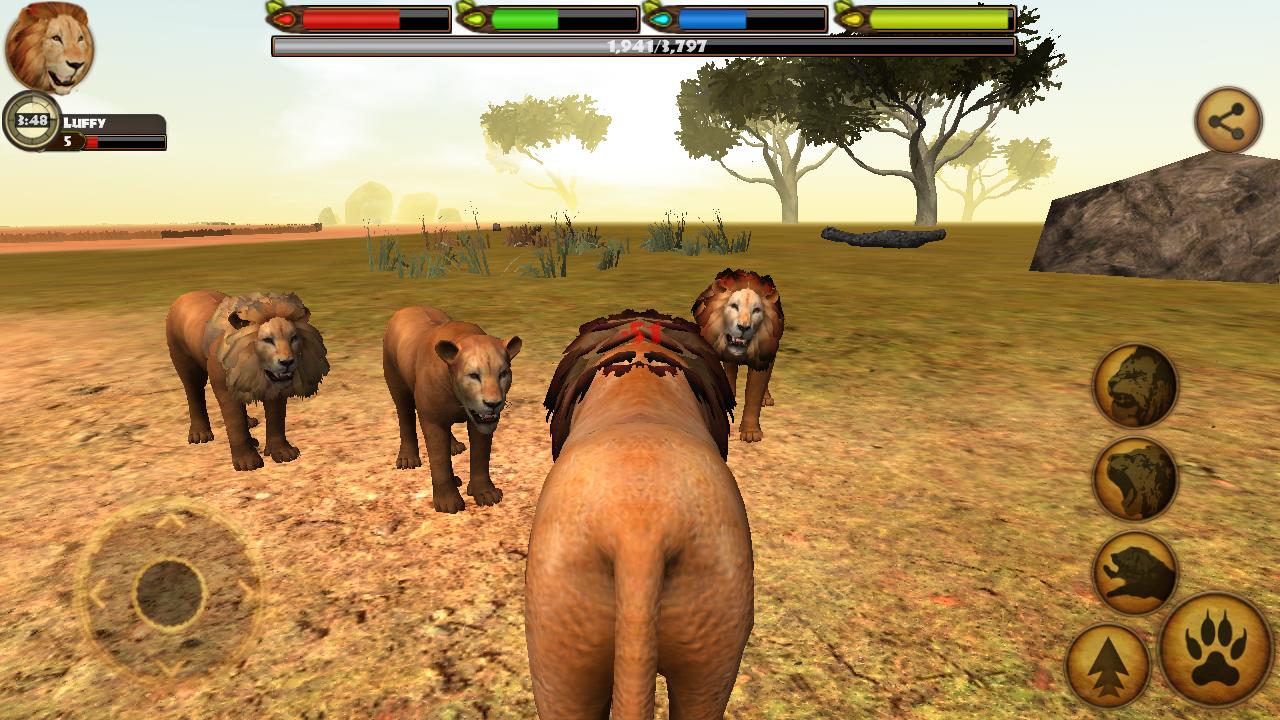 Скачать бесплатно игру симулятор льва