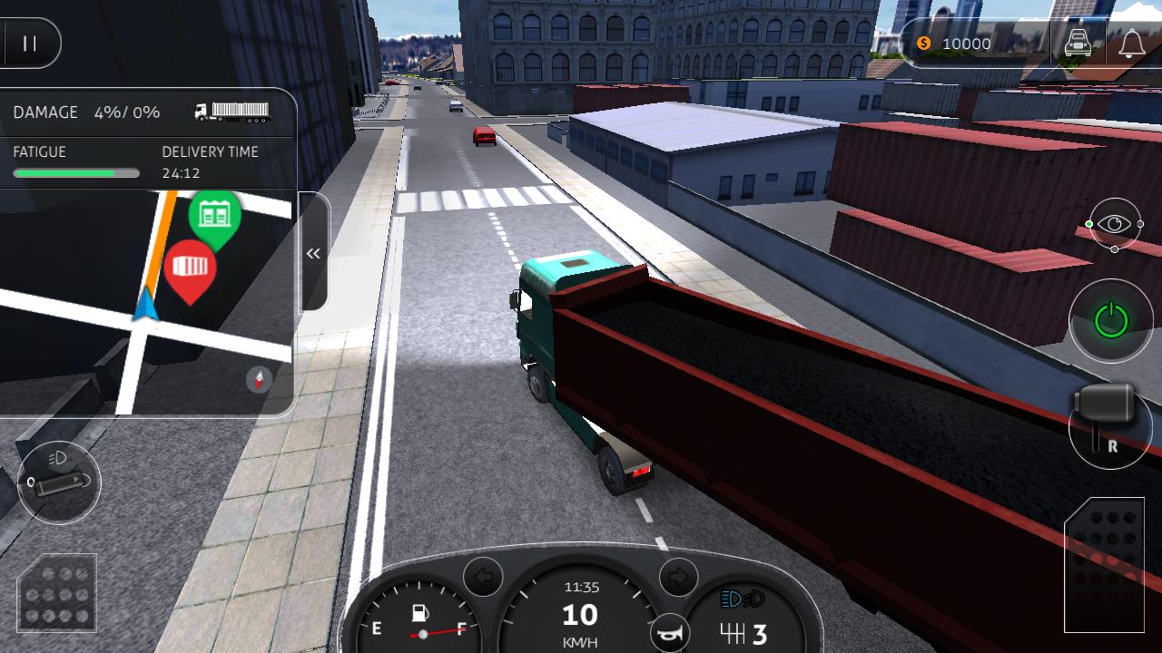 Скачать euro truck driver на андроид.