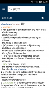 Oxford Dictionary of English3