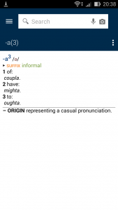 Oxford Dictionary of English4