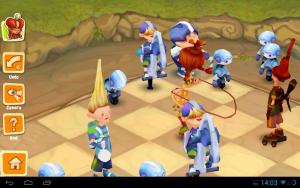 Шахматы Битва Мультяшек3