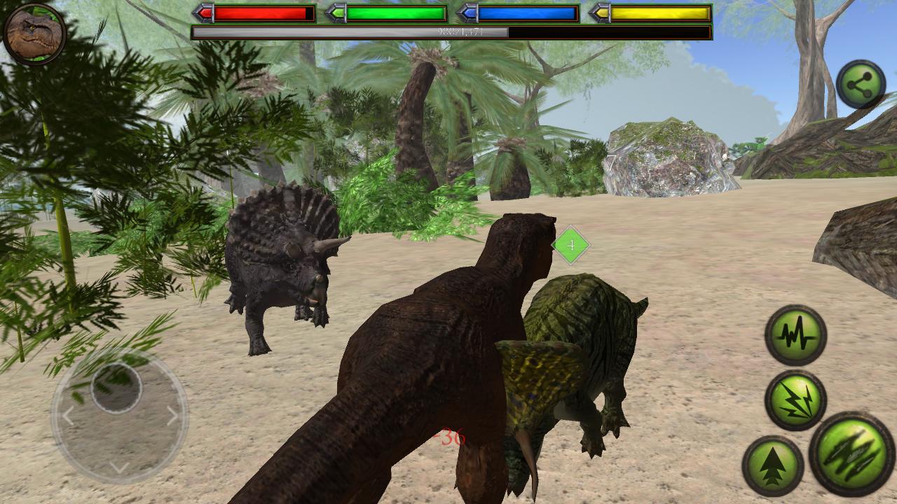 Игра симулятор динозавра скачать бесплатно на андроид
