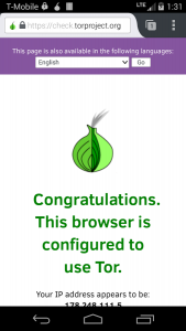 Tor Browser на Android
