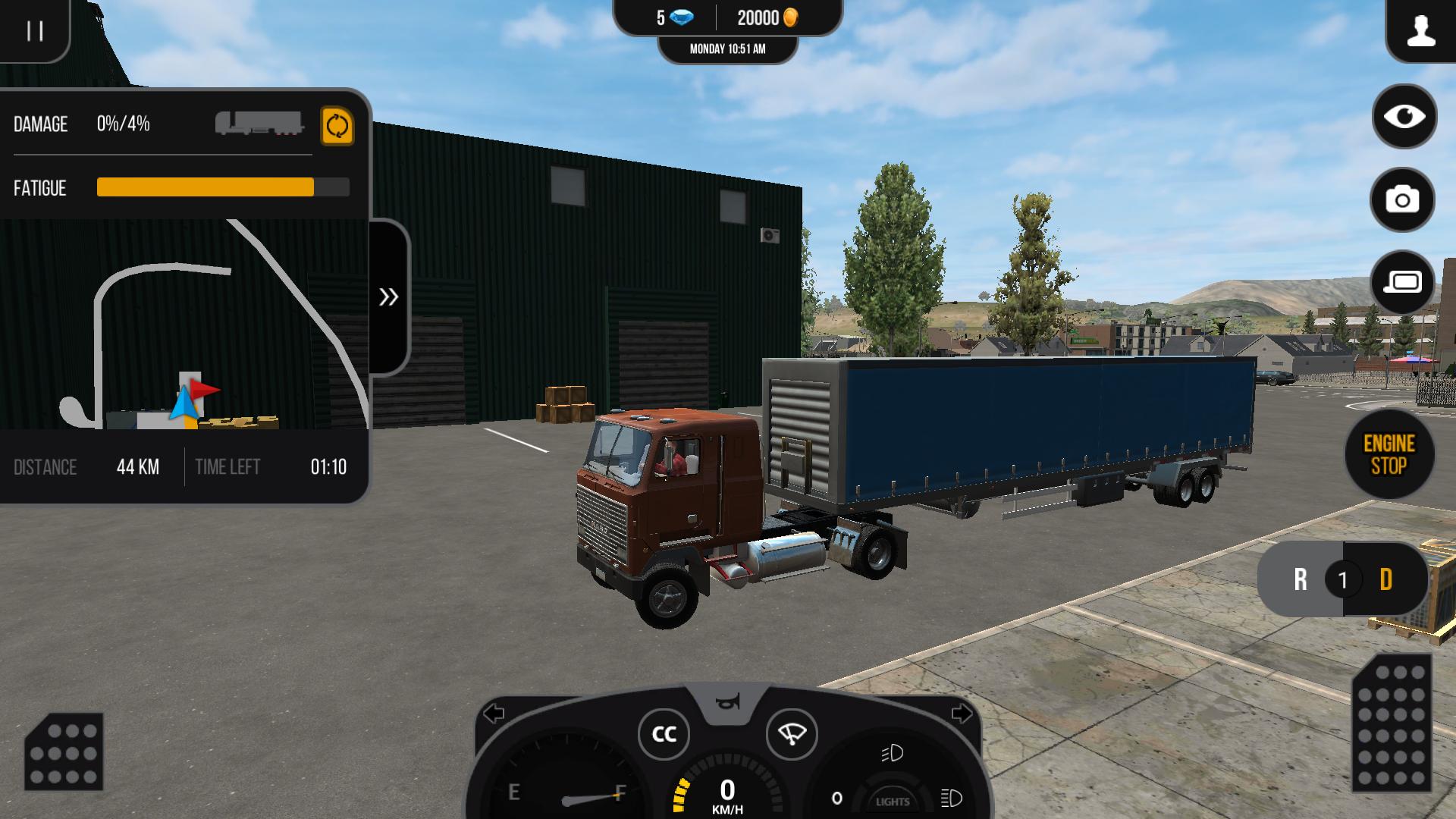 Скачать игру грузовики симулятор на андроид