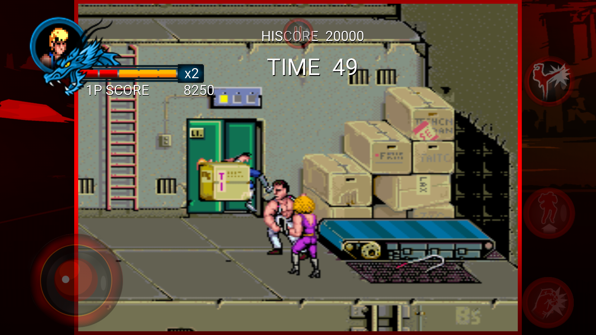 double dragon trilogy apk obb