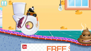 Baby Toilet Race Cleanup Fun для андроид