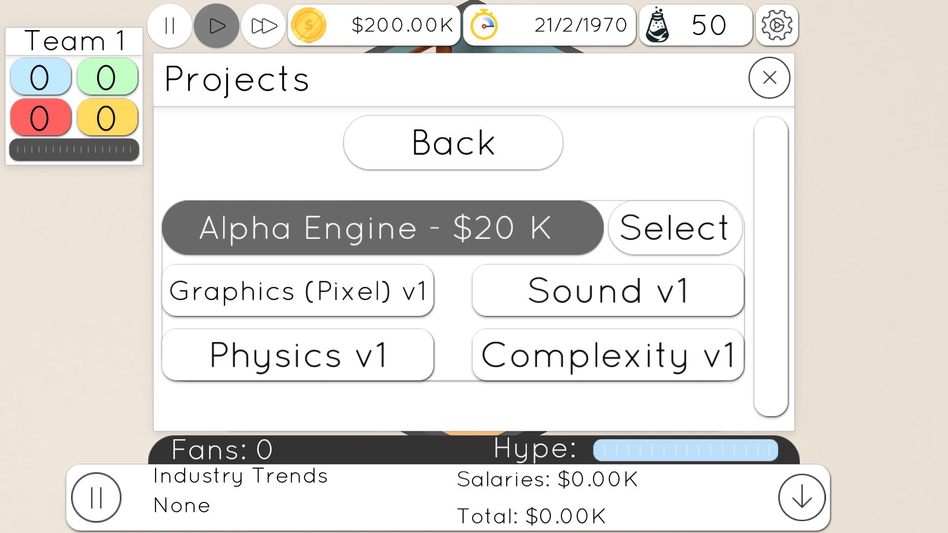 Game studio tycoon 2 скачать 4. 3 (мод: много денег) на android.