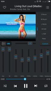Эквалайзер плеера Equalizer Music Player Pro