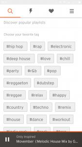 музыка онлайн на андроид