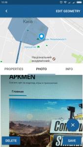 GeoEditor for MapTiler для андроид