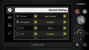 Lumio Cam камера с дизайном фотоаппарата