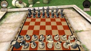 шахматы с фигурами воинов