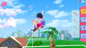 Скачать полную версию Девушка-скейтер