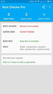 Root SU Checker & Busy Box Pro для Андроид