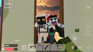Pixel Combat Zombies Strike игру