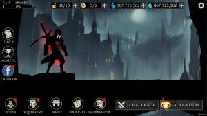 Shadow of Death Dark Knight - Stickman Fighting скачать