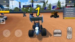 Dirt Trackin Sprint Cars apk