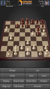 SparkChess Pro игра