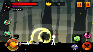 Stickman Ghost Ninja Warrior для Андроид