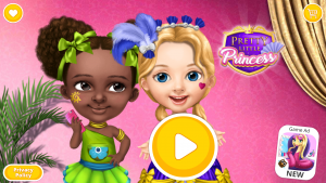 Pretty Little Princess - Dress Up, Hair & Makeup скачать