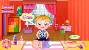 Baby Hazel Newborn Vaccination игра для девочек