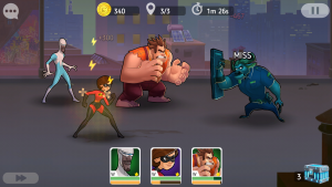 Disney Heroes Battle Mode игра