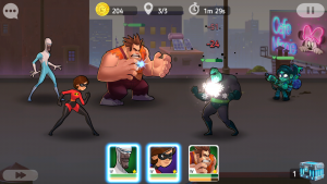 Disney Heroes Battle Mode на андроид