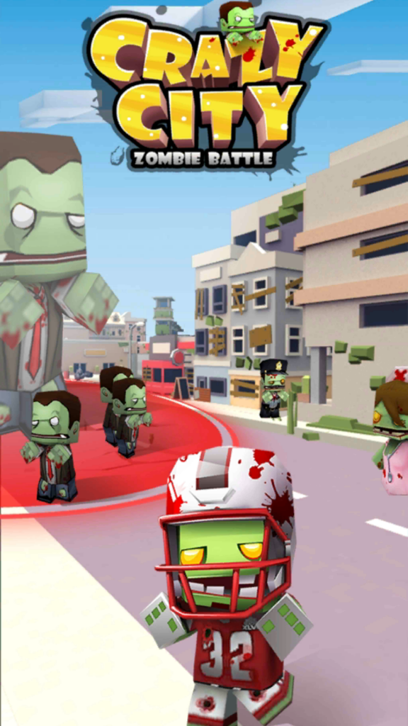 Crazy City Zombie Battle скачать